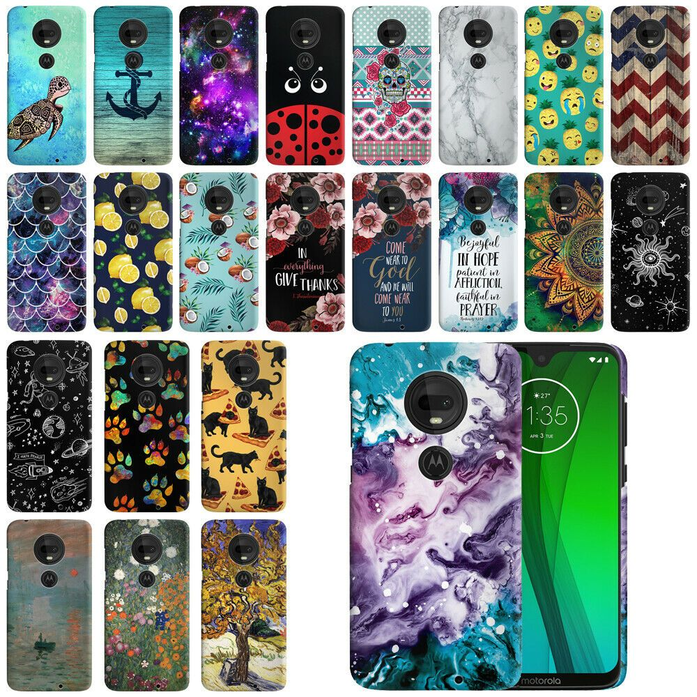 For Motorola Moto G7 G7 Plus G7 6 2 Hard Protector Back Case Phone Cover Ebay Motorola Phone Emoji Phone Cases Phone Cases