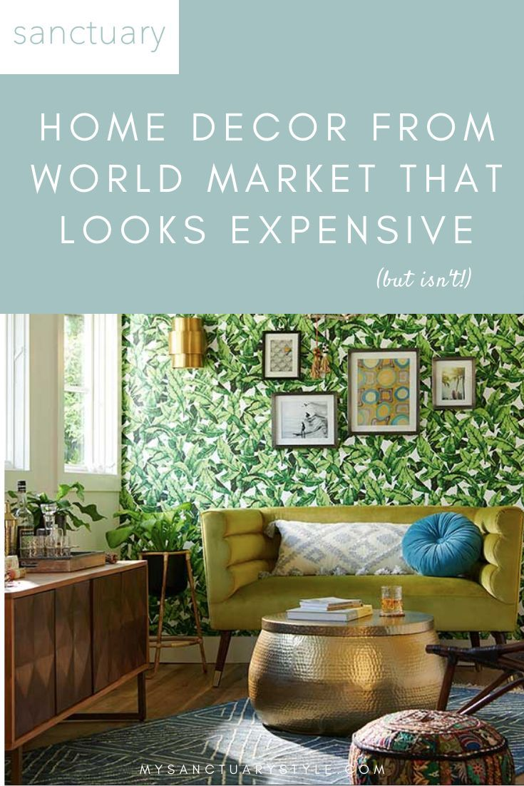 15 Stylish Modern Home Decor Products from World Market that Look Expensive (but aren't!) • Click through to get a detailed look at these 15 stylish & affordable home decor products from World Market that look high-end! #homedecorideas #homedecoronabudget  #modernfurniture #interiordesigntips #interiordecorating #worldmarket