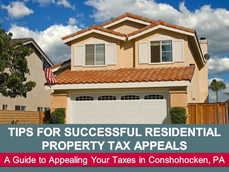 Tips for Successful Residential Property Tax Appeals from Curley & Rothman, LLC Residential property tax appeals can lower the amount that you are required to pay in property and school taxes. A tax appeal can save you a considerable amount of money if you are successful. Some tips can help maximize your chances of success. The post Tips for Successful Residential Property Tax Appeals appeared first on Curley & Rothman, LLC.