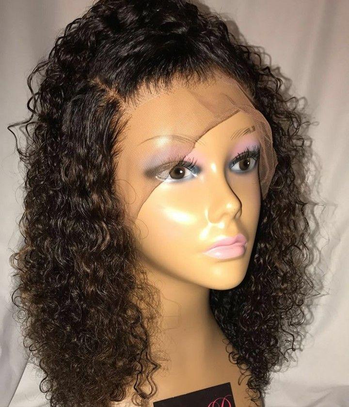 Perruque Cheveux Boucles Pinterest
