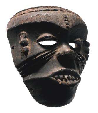 Ibibio Mask for the Ekpe Society, Nigeria | Lot | Sotheby's