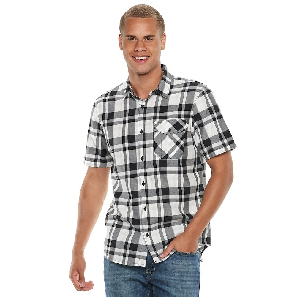 a1d20604f3 Men s Vans Square Fair Button-Down Shirt