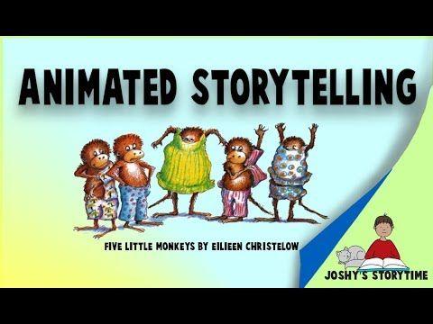 9 Animated Five Little Monkeys By Eileen Christelow