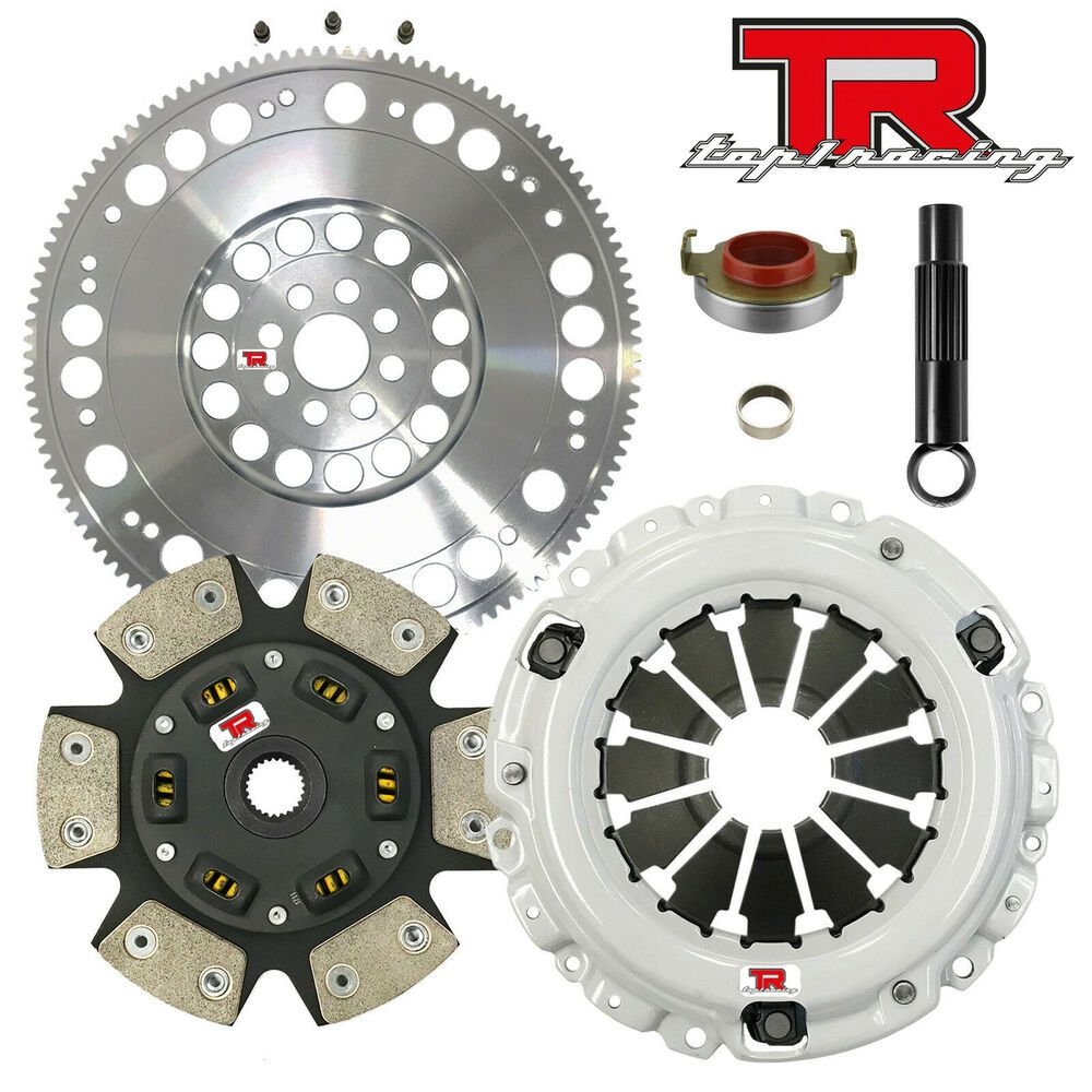 Ad eBay) TR1 STAGE 3 HD CLUTCH KIT & RACING FLYWHEEL FIts