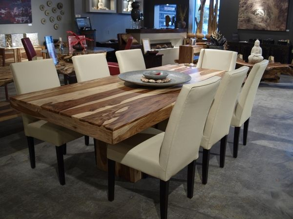 Table de cuisine artemano for the home pinterest diner table dinning room tables and for Table de cuisine en bois