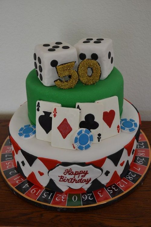 34 Unique 50th Birthday Cake Ideas With Images Pinterest