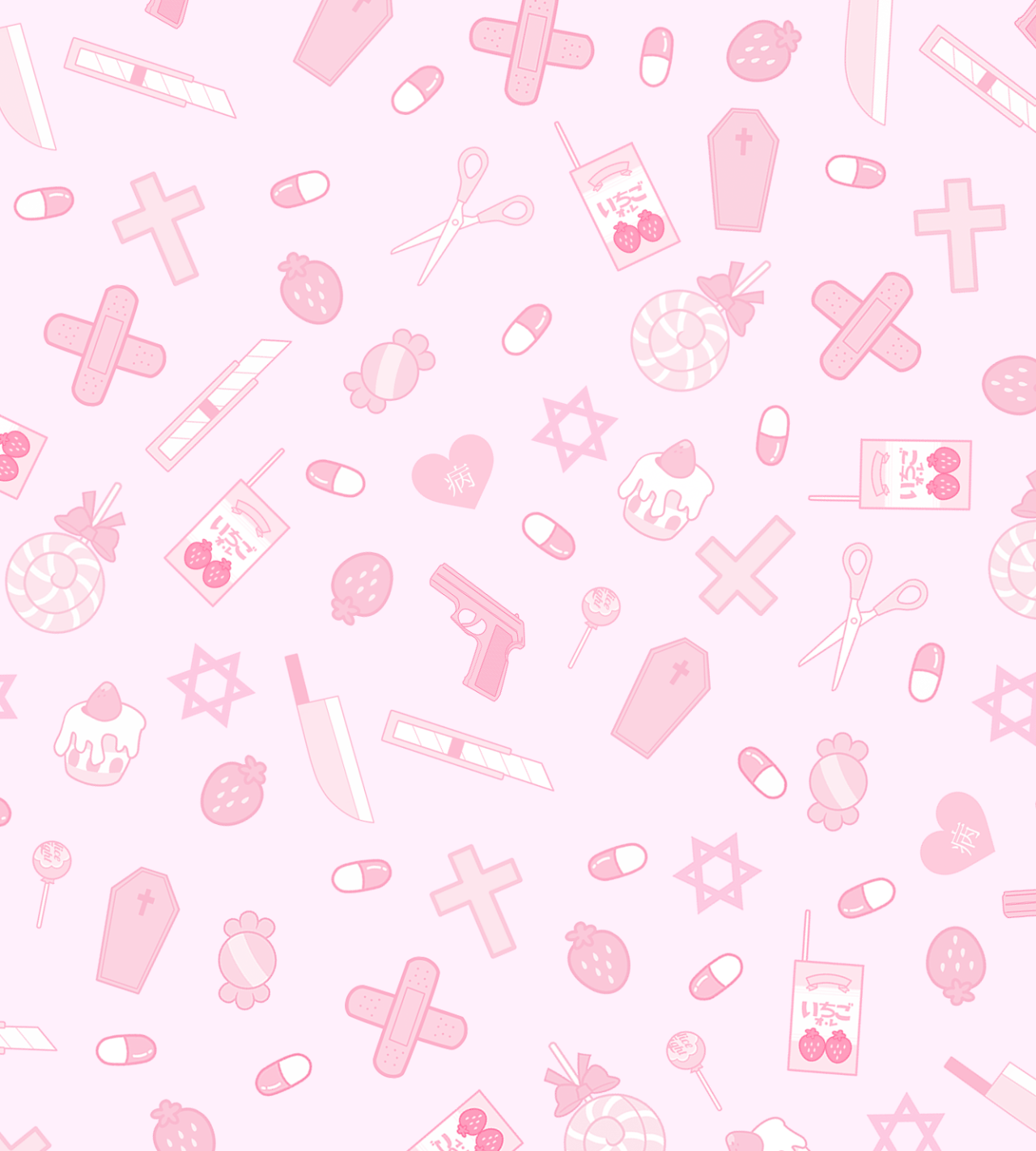 Japanese Kawaii Aesthetic Wallpaper