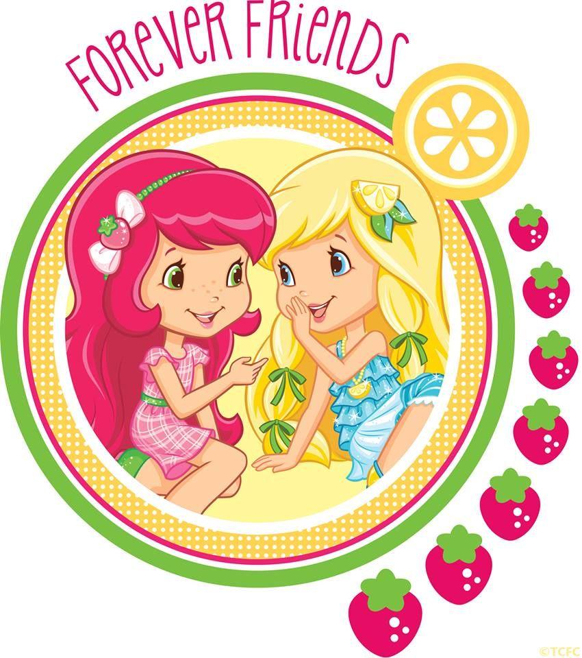 Forever Friends! Strawberry Shortcake and Lemon Meringue ...