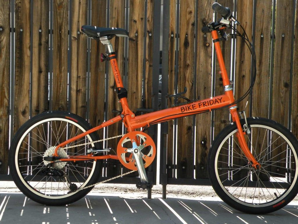 Bike Friday Pocket Llama Orange Bicycle Corner Pinterest