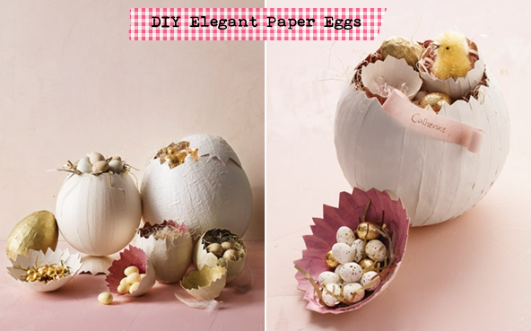Papier-mache egg containers (personal experience - use water balloons for best egg shape)
