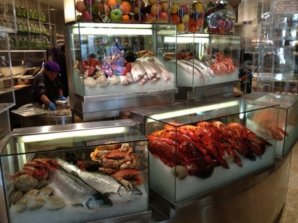 the 10 best seafood buffet in las vegas and guide to vegas food rh pinterest com best buffet in las vegas strip 2017 best buffets in las vegas strip 2018