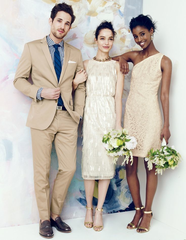 J Crew Offers Elegant Wedding Party Dresses