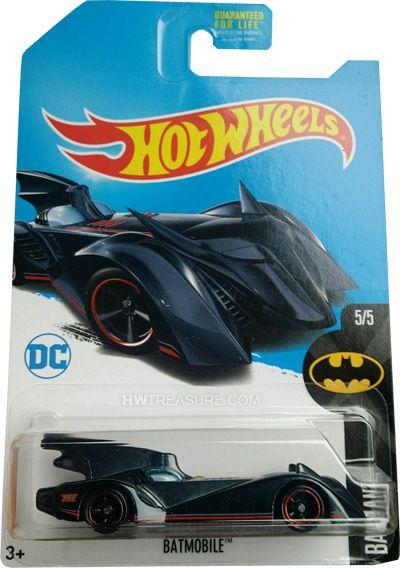 The Brave And Bold Batmobile Hot Wheels 2017 Super Treasure Hunt Hwtreasure