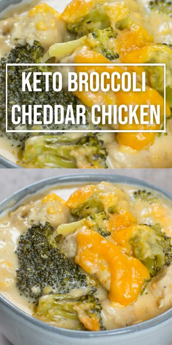 Keto Broccoli Cheddar Chicken (One Pan Recipe)