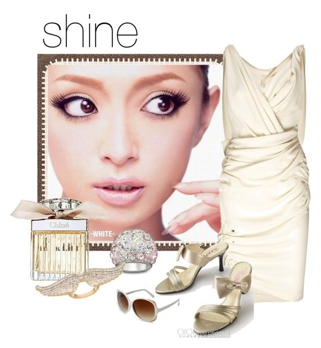 """shine"" by jubee22 ❤ liked on Polyvore featuring Forum, Vionnet, Swarovski, Chloé, CC SKYE and A.J. Morgan"
