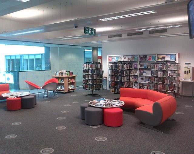 University of the West of Scotland Ayr Campus Social Study Space