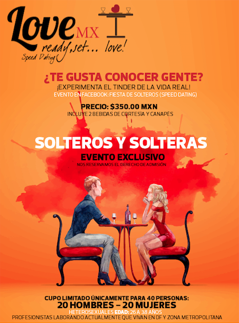?Fiesta de Solteros: Speed Dating!