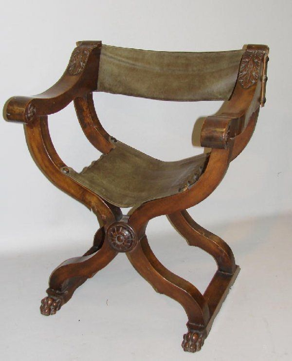Italian Renaissance Dante Chair Furniture Chairs Cassone