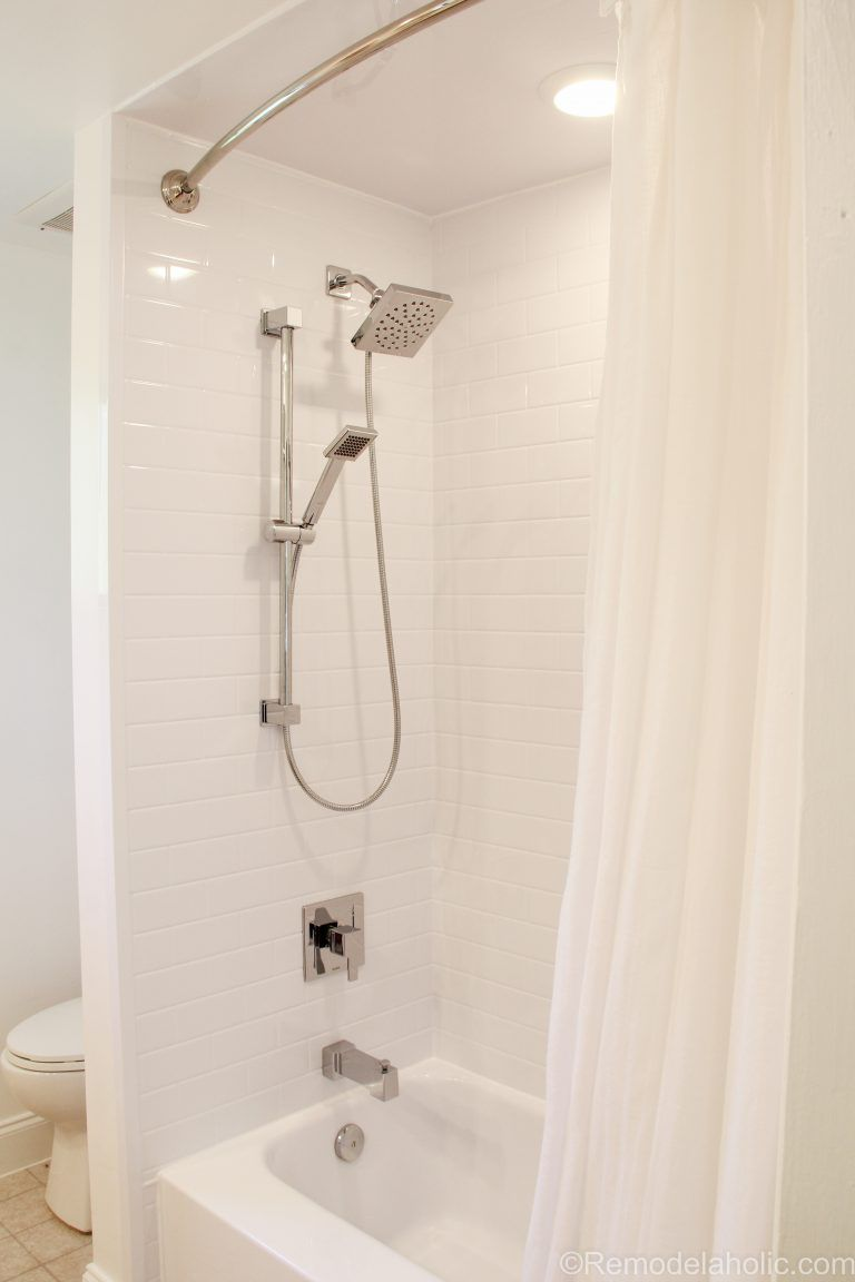 Bathroom Shower Tub Refresh By Bath Fitters Remodelaholic 45 Of 47 Bathtub Makeover Pink Bathtub Bath Fitter