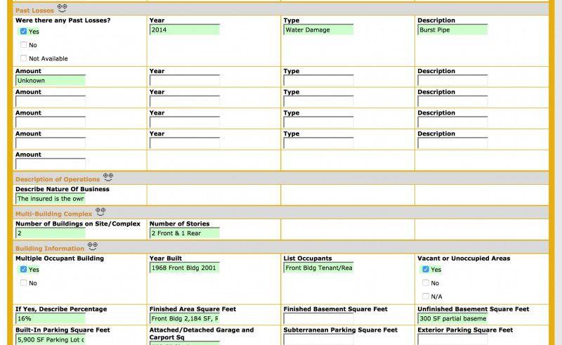 Commercial property inspection report template unique