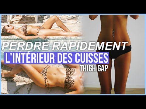 EXERCICES POUR PERDRE RAPIDEMENT L\'INTERIEUR DES CUISSES. - YouTube ...