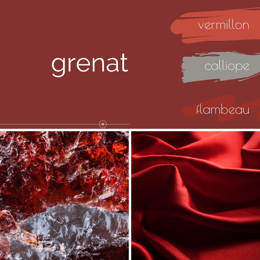 Au Fil Des Couleurs Rouge Grenat En 2020 Au Fil Des Couleurs Peinture Naturelle Grenat