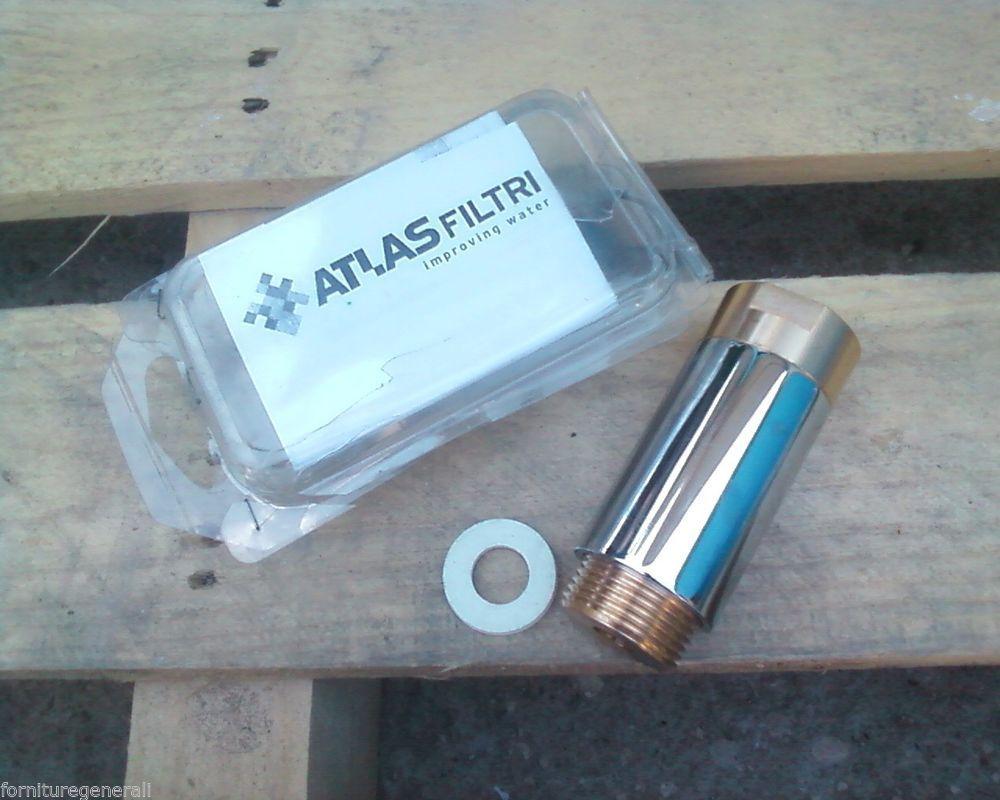 Dettagli su filtro acqua magnetico anticalcare 3 4 mag 2 for Atlas filtri anticalcare