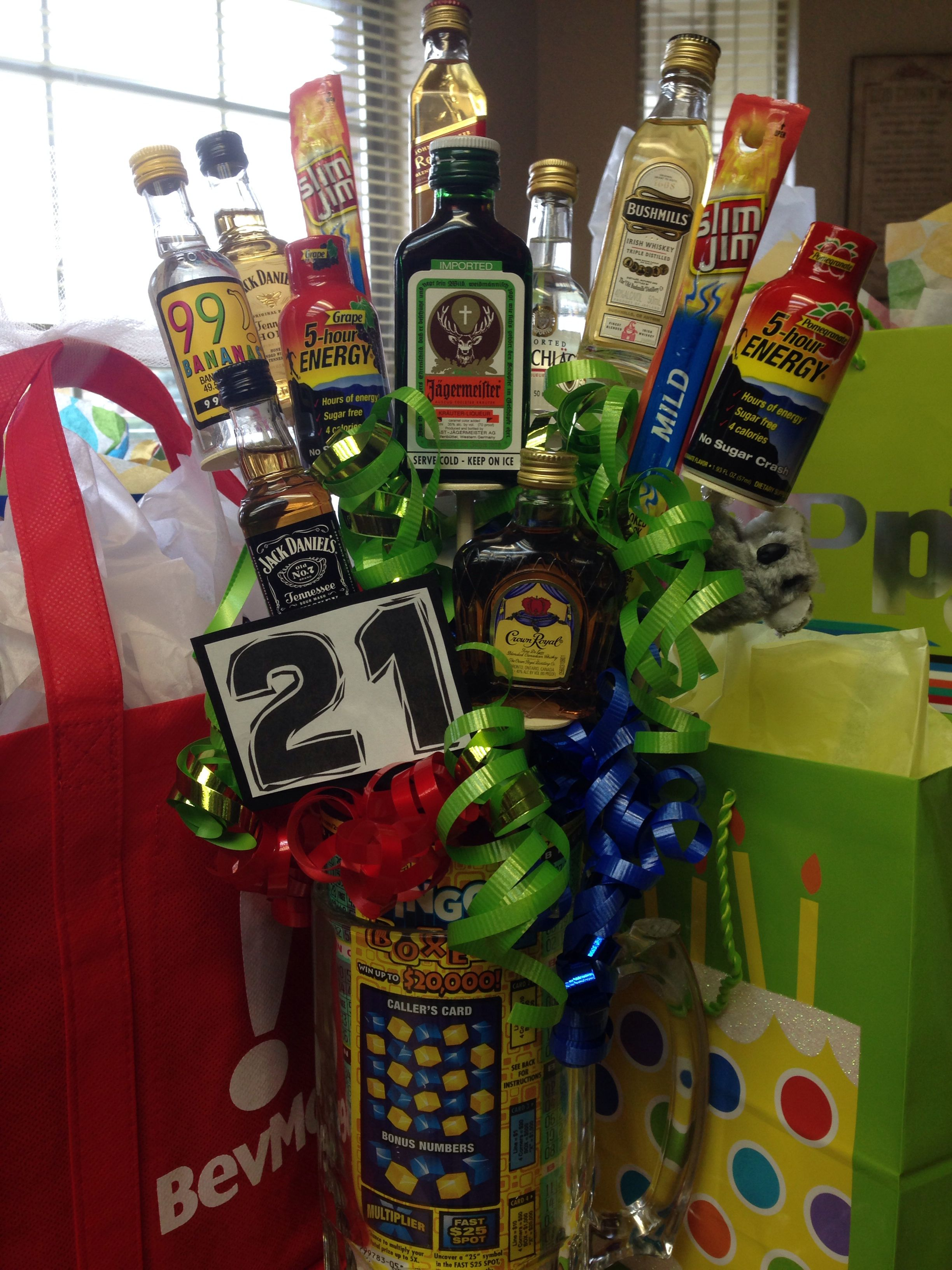 21st birthday gift for guys 21st birthday gifts diy