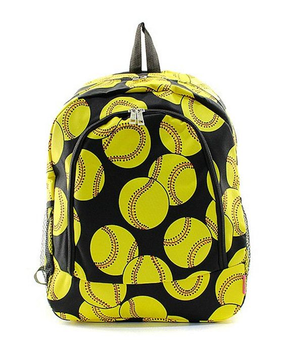 0b3ab0ddfca8 Personalized Backpacks Softball Backpack by TheStitchandNeedle ...