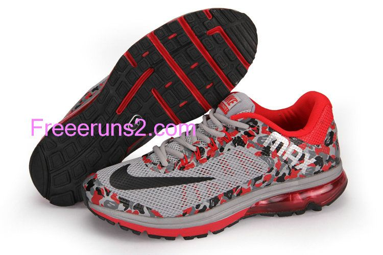 sports shoes 38a73 a0c20 Full Of Half Off Cheap Nike Air Max,Nike Air Max Excellerate 2 Mesh Camo  Mens Sport Red Wolf Gray Black Camouflage