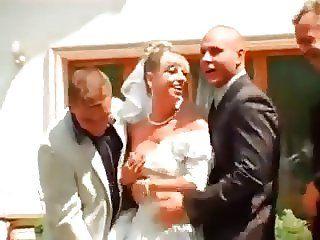 Wedding dress gangbang pic
