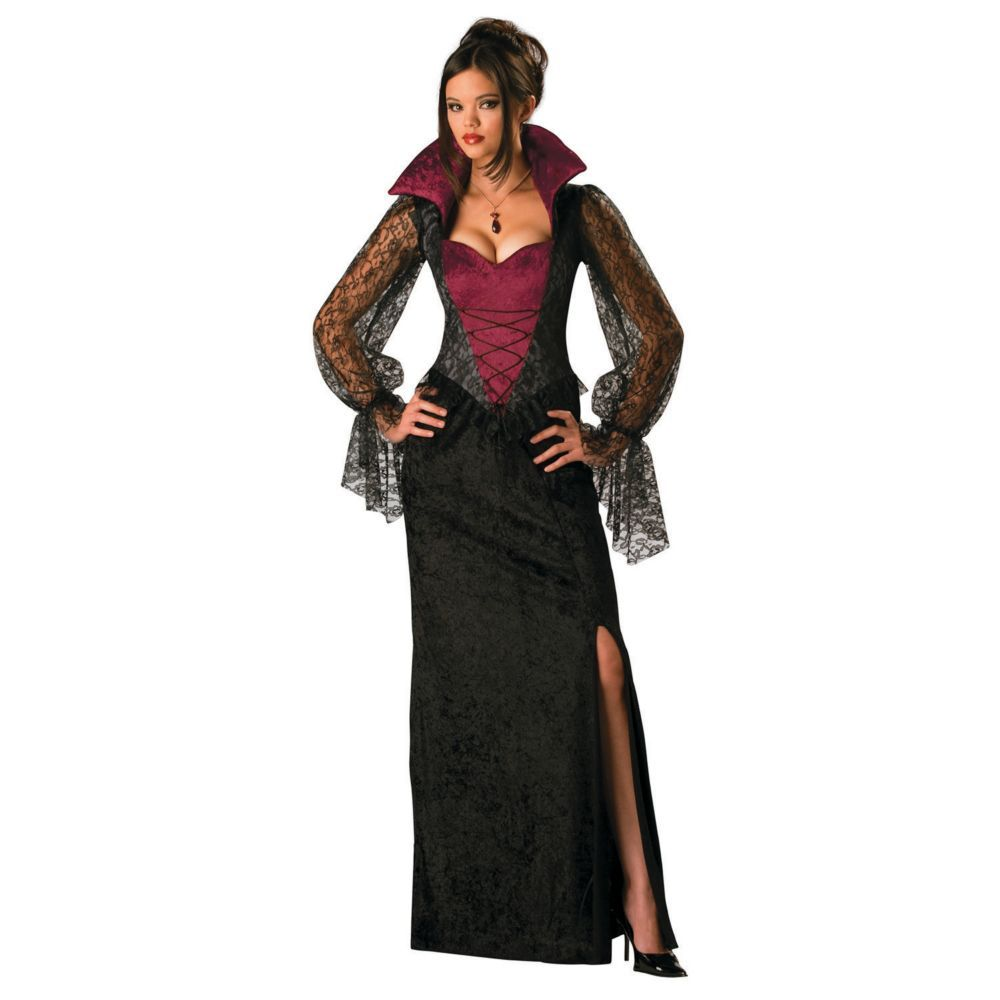Adults Gothic Accessories Vampire Vampiress Halloween Fancy Dress Costume Outfit