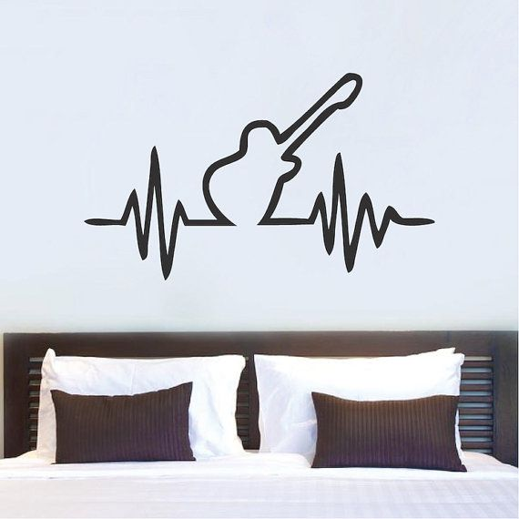 This Item Is Unavailable Music Wall Decal Guitar Bedroom Wall Decor Bedroom