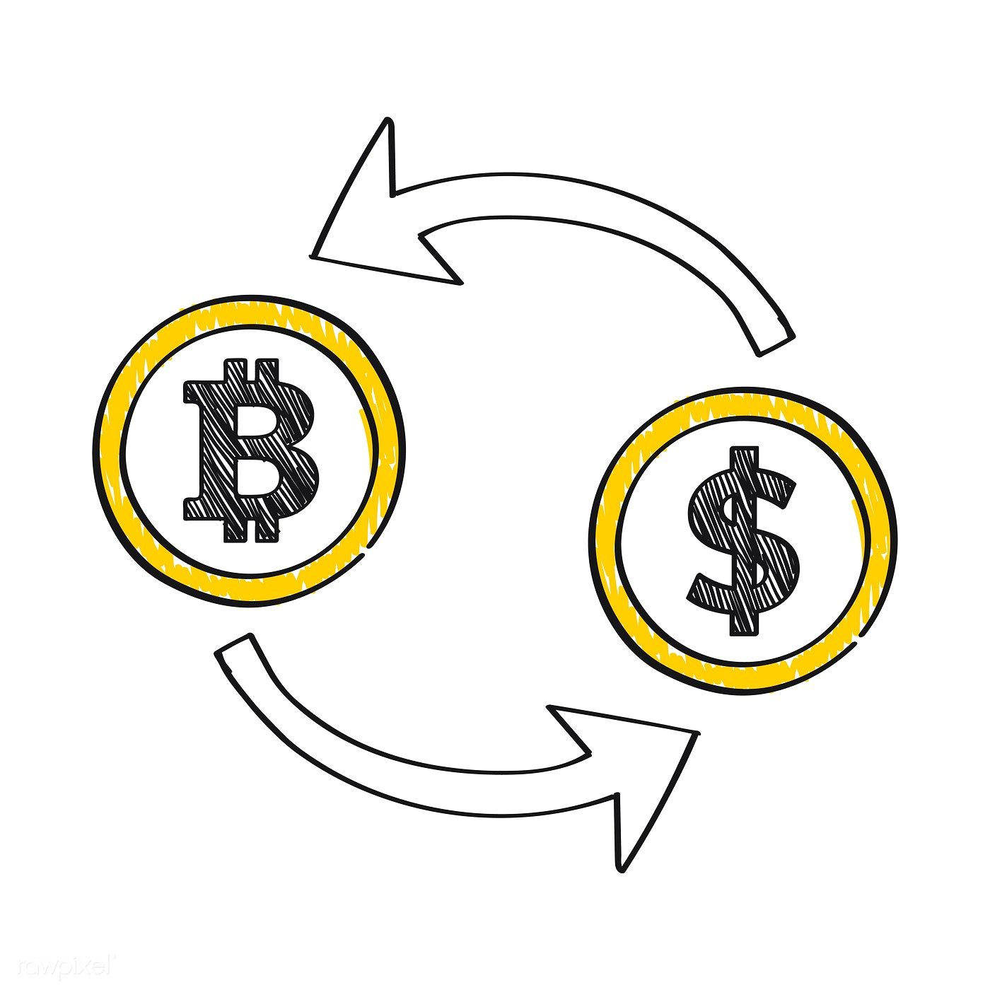 Bitcoin Currency Exchange Concept