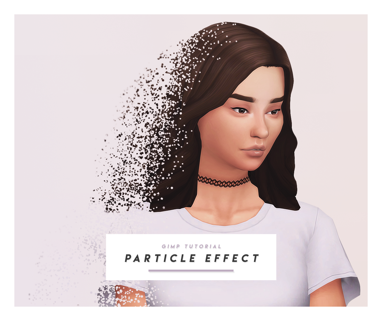 Particle Effect Gimp Tutorial This Is Was Requested Quite A Bit So I Finally Took Time To Sit Down And Write The Tutorial Y Gimp Tutorial Gimp Tutorial