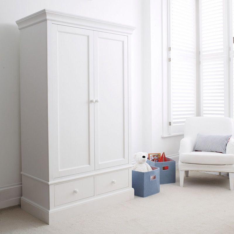 Classic Small Wardrobe Bedroom Furniture The White Company Furniture Fitted Bedroom Furniture Small Wardrobe