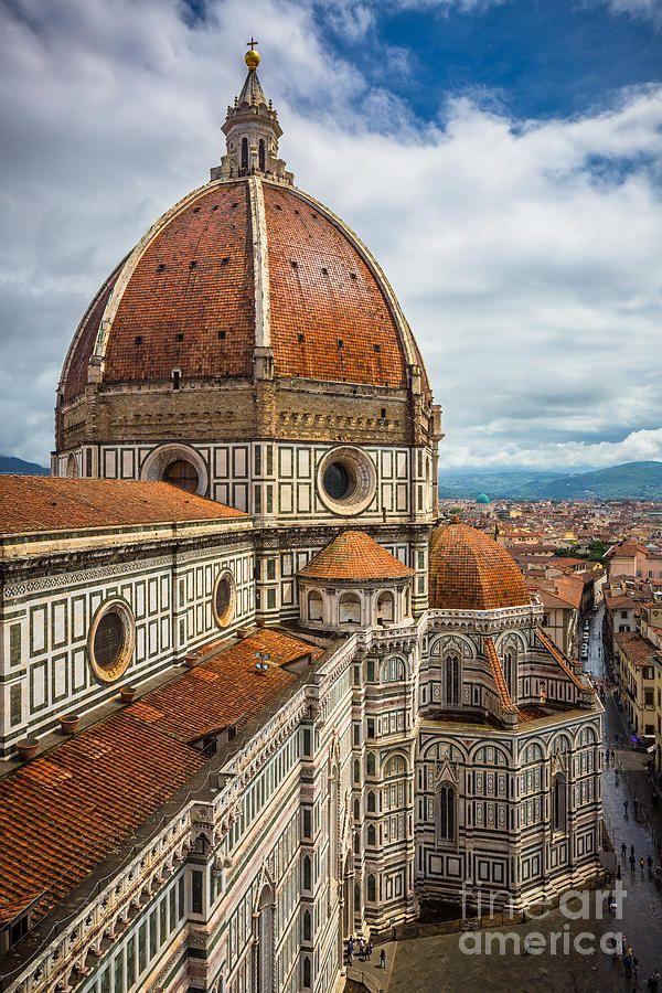 Basilica Di Santa Maria Del Fiore Photograph By Inge Johnsson Italy Architecture Italian Architecture Architecture
