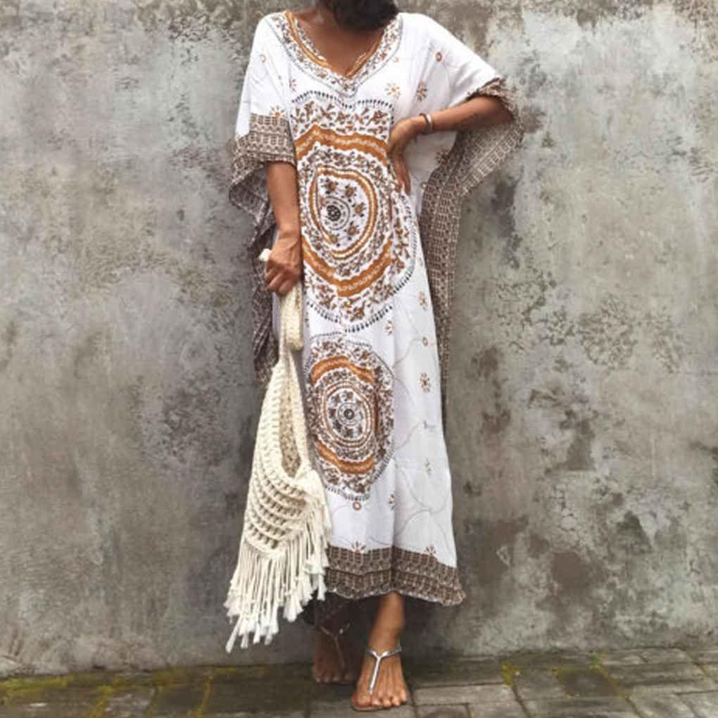 Elenxs Women Plus Size Maxi Long Dress Floral Print Bat Sleeve Floral Loose Maxi Long Dress Walmart Com Loose Maxi Dress Maxi Dress Maxi Dress With Sleeves [ 1020 x 1020 Pixel ]