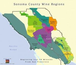 Sonoma Wine Country Weekend: The Wine Region