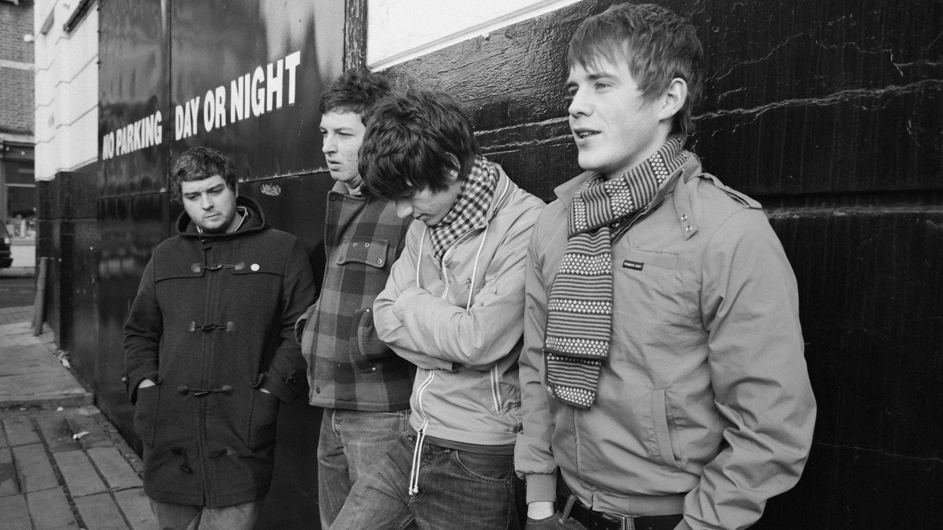 Arctic Monkeys   Arctic Monkeys, with original bassist Andy Nicholson (far left)