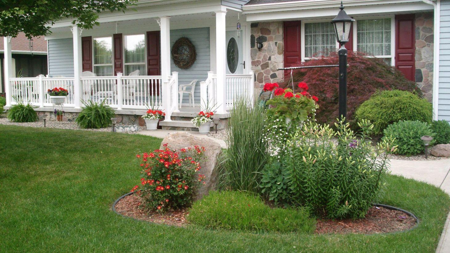 10 Most Creative Front Garden Design Ideas For Your Home Front Yard Ideas Front Garden Design Front House Landscaping Front Yard Landscaping Design Landscaping ideas for house with front porch