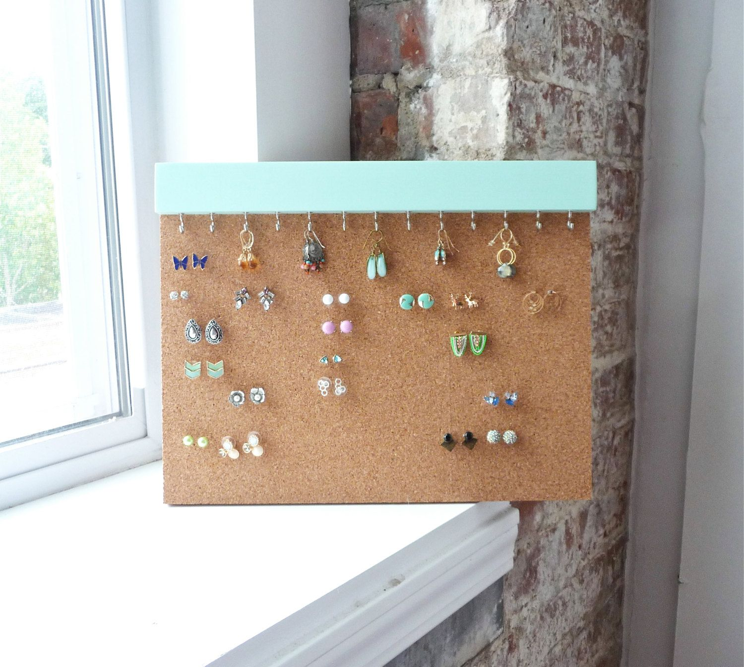 Earring Studs Holder Stud Earring Holder Cork Earring Holder