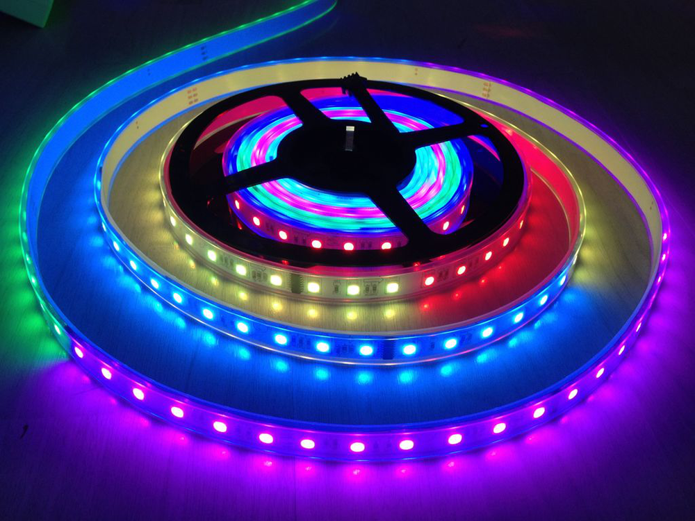A nervous and terrible week is end up~ Happy weekend is coming~ Hope you have a nice mood! Here is bring the magic color led strip light to you, hope you mind are colorful as the same with the LED Pi