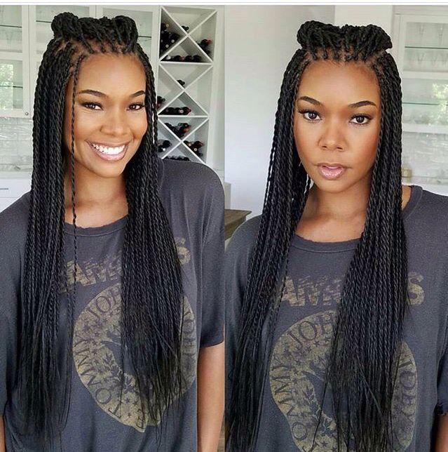 Braids Tresses Africaines Coiffure Rasta Coupe Cheveux Visage Rond Coiffure Braids