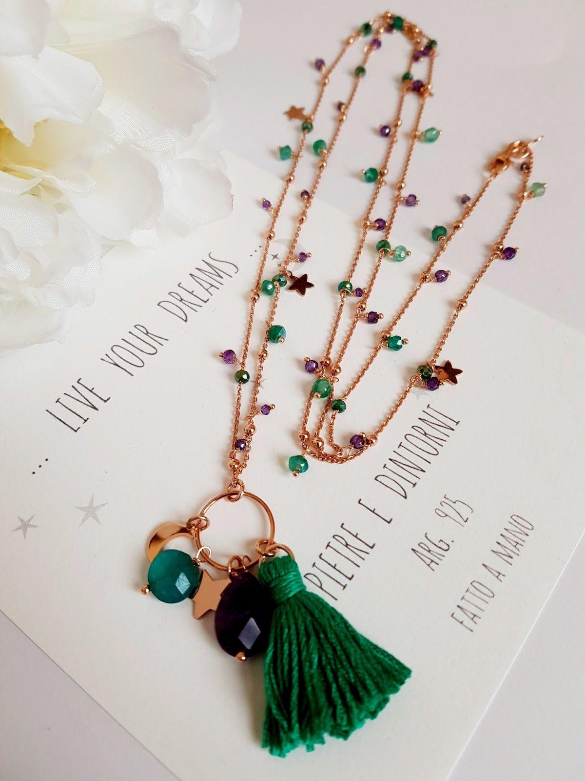 Pietre e dintorni jewelry inspirations collane di for Orecchini con pietre dure fai da te