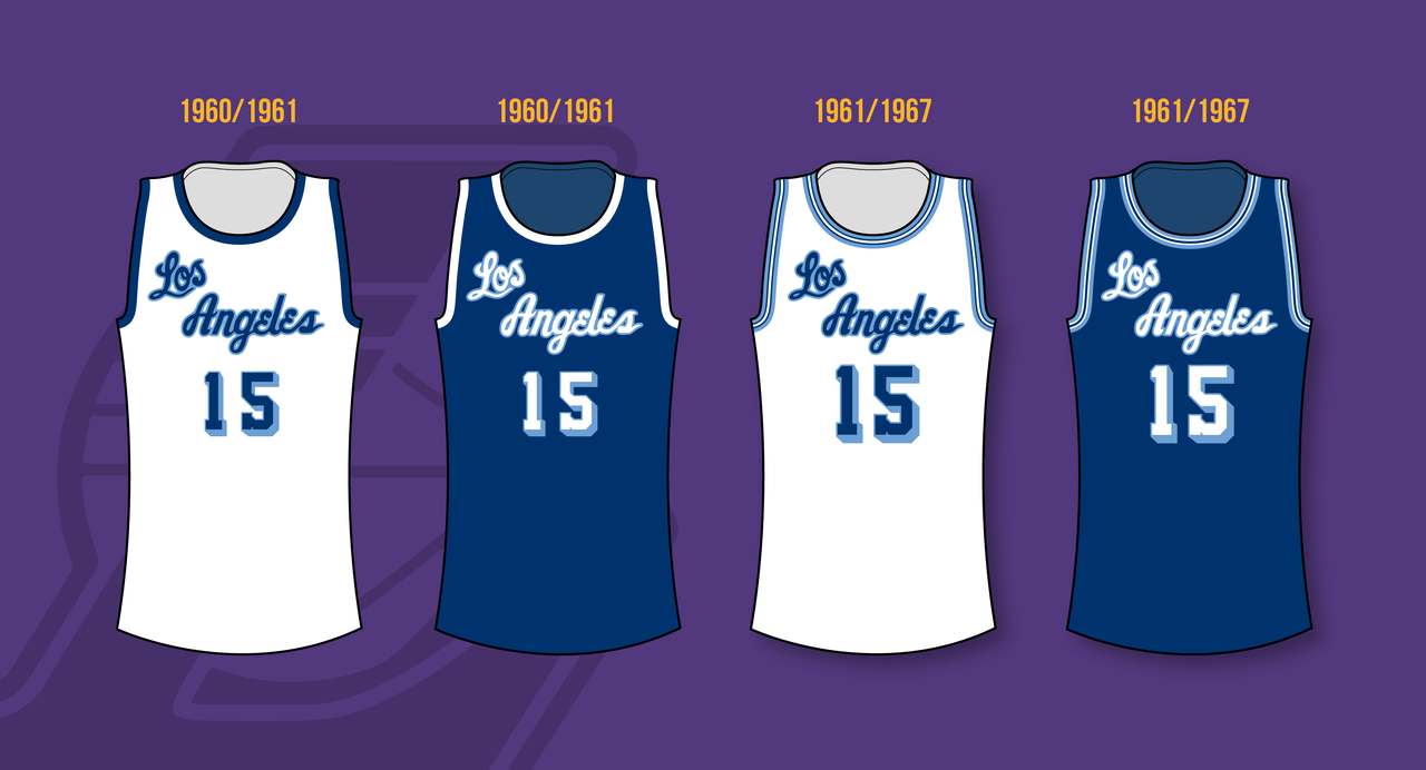 Minneapolis Lakers 1947 1960 Los Angeles Lakers 1960 2002 Los Angeles Lakers Los Angeles Lakers