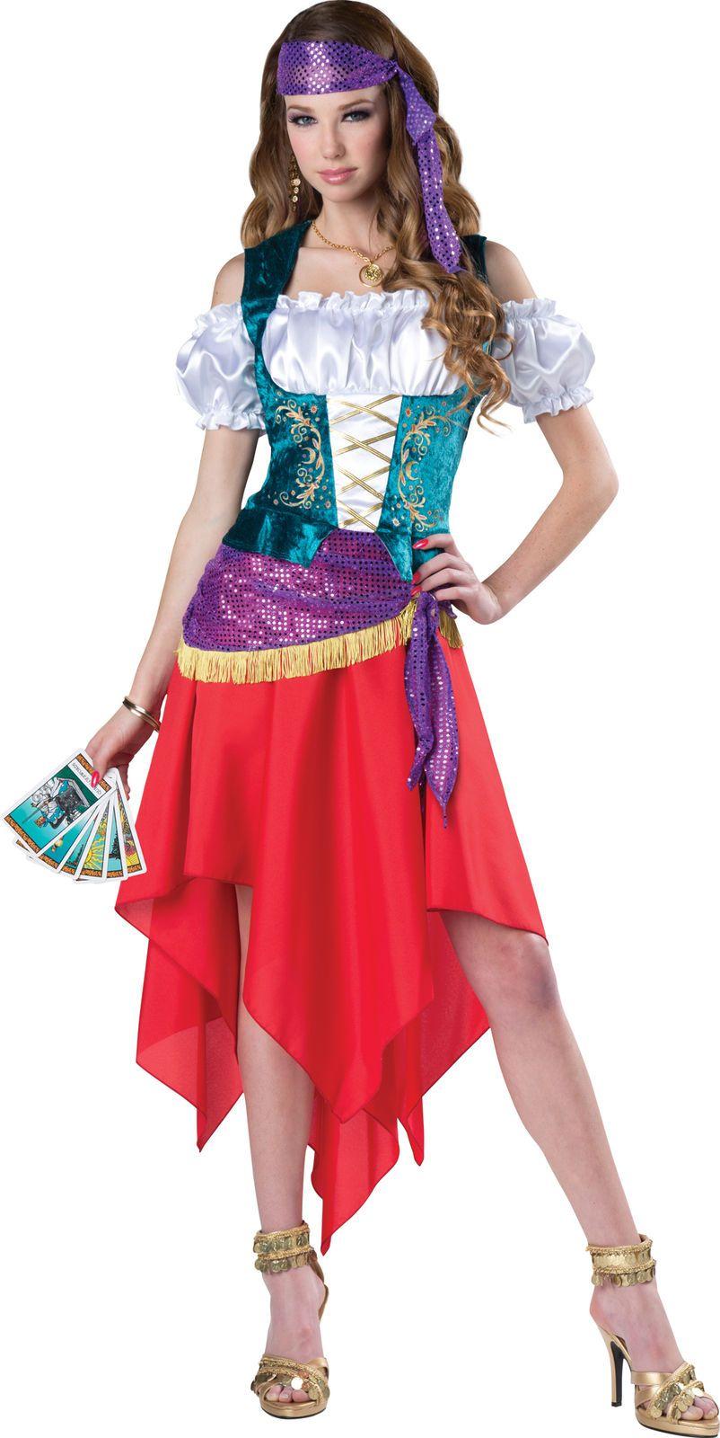 dfff72b912a Mystical Gypsy Woman Costume Traveller Gypsy Outfit Fortune Teller Halloween   HalloweenCostumeForWomen  FancyDress  AdultCostume  WomenCostume ...