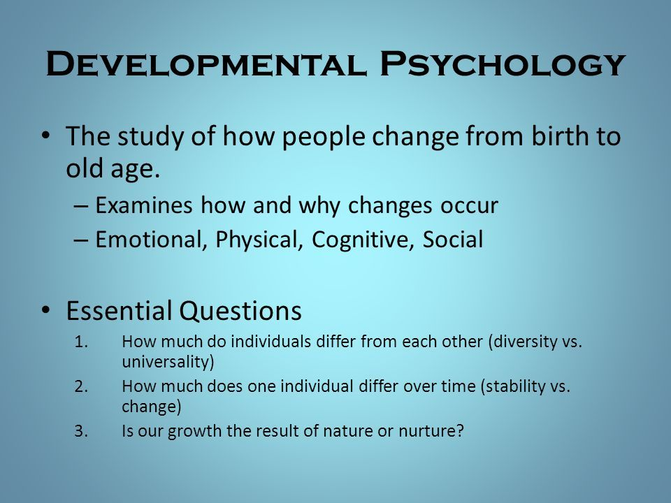 Developmental Psychology Topic Example Presentation Yahoo Image Search Result Child Of Research Paper Topics