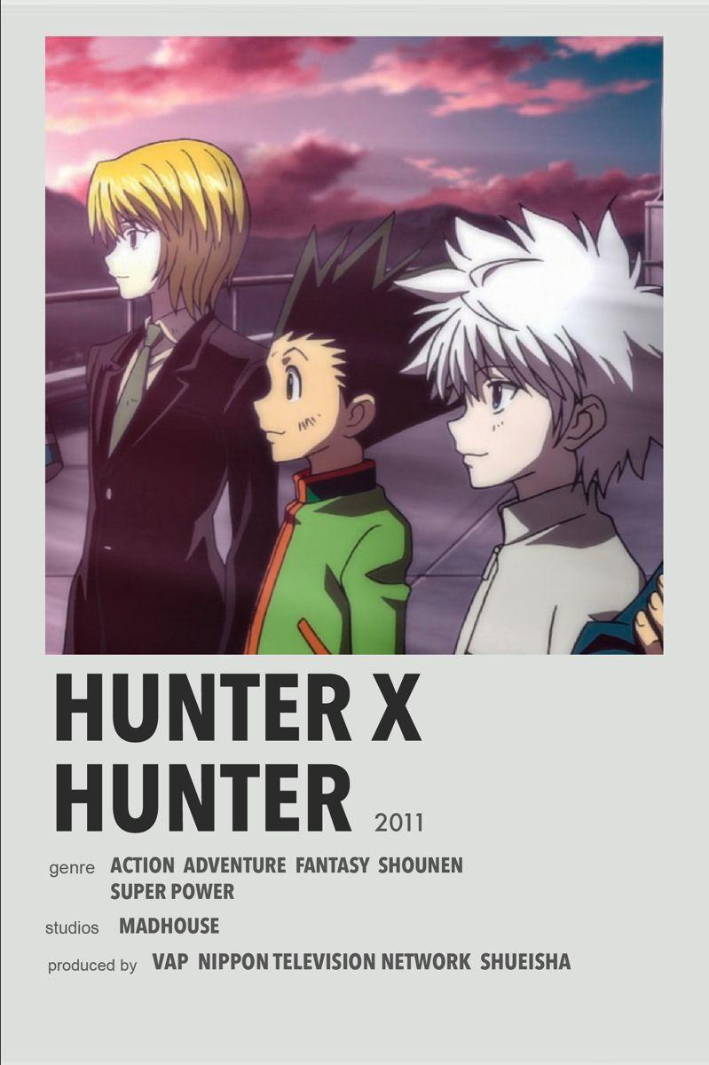 Hunter X Hunter In 2020 Anime Decor Film Posters Minimalist Anime Pixel Art