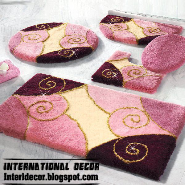 Rugs Bathroom | Pink Rugs, Pink Bathroom Rug Set, Modern Bathroom Rug Sets  Models